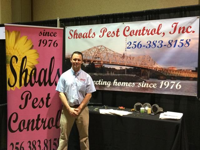Shoals Pest Control - Call (256) 383-8158 for a FREE ESTIMATE today!